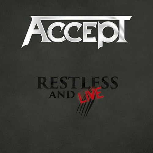 Accept Blind Rage Live In Europe 2015 2CD