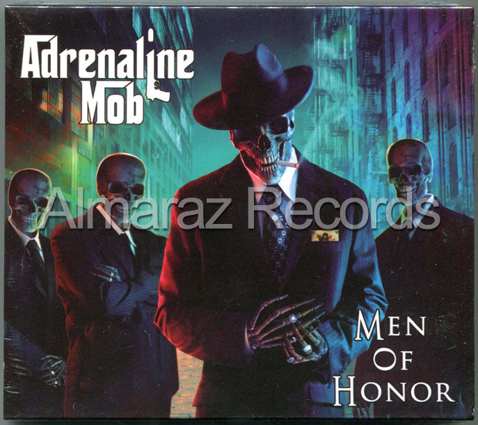 Adrenaline Mob Men Of Honor CD - Almaraz Records | Tienda de Discos y Películas  - 1