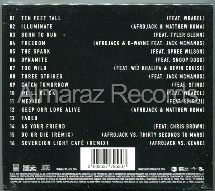 Afrojack Forget The World Deluxe CD - Almaraz Records | Tienda de Discos y Películas  - 2