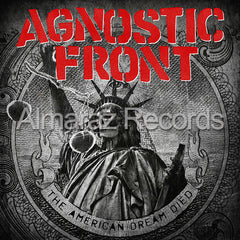 Agnostic Front The American Dream Died CD - Almaraz Records | Tienda de Discos y Películas