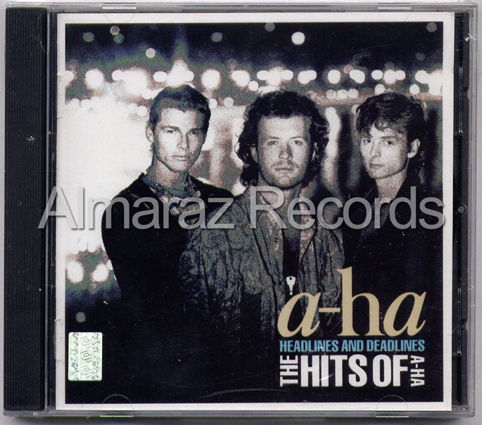 a-ha Headlines And Deadlines The Hits Of a-ha CD - Almaraz Records | Tienda de Discos y Películas  - 1