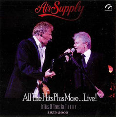 Air Supply All The Hits Plus More... Live! CD - Almaraz Records | Tienda de Discos y Películas