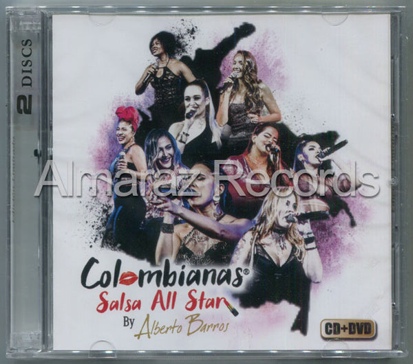 Alberto Barros Colombianas Salsa All Star CD+DVD