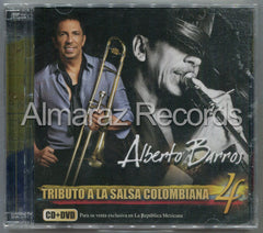 Alberto Barros Tributo A La Salsa Colombiana 4 CD+DVD
