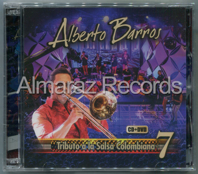Alberto Barros Tributo A La Salsa Colombiana 7 CD+DVD