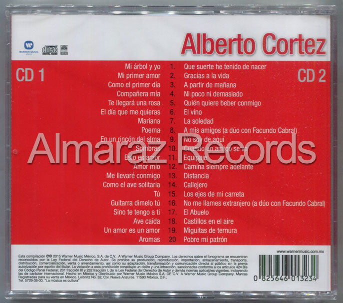 Alberto Cortez 40 Exitos 2CD