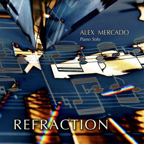 Alex Mercado Refraction CD - Almaraz Records | Tienda de Discos y Películas