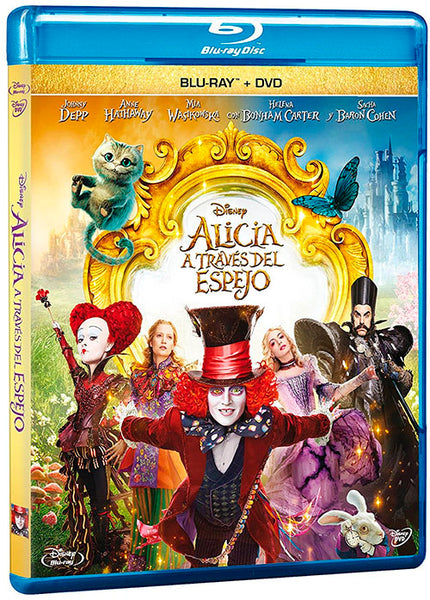 Alicia A Traves Del Espejo Blu-Ray+DVD