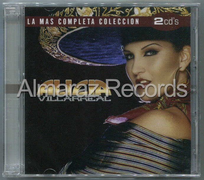 Alicia Villarreal La Mas Completa Coleccion 2CD