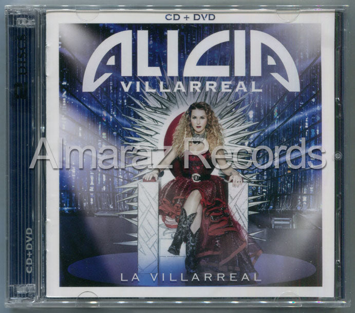 Alicia Villarreal La Villarreal CD+DVD