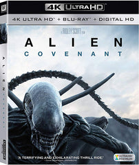 Alien Covenant Blu-Ray 4K Ultra HD + Blu-Ray