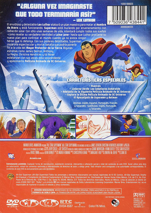 Superman All Star Superman DVD - Almaraz Records | Tienda de Discos y Películas  - 2
