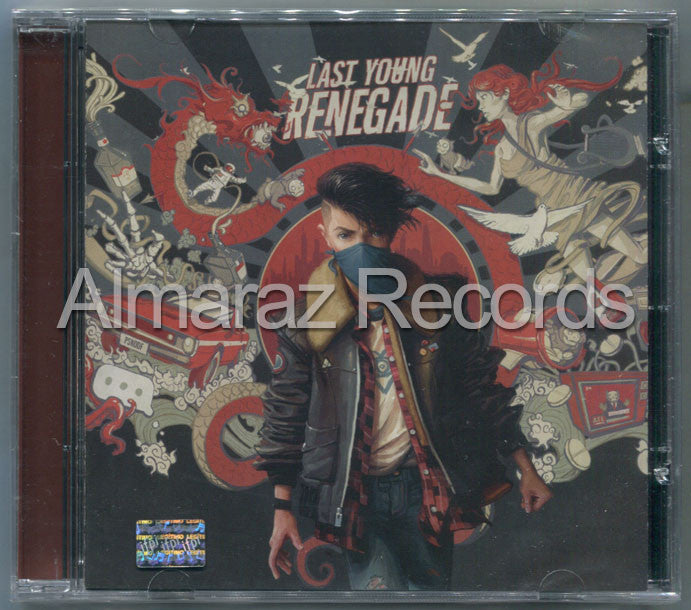 All Time Low Last Young Renegade CD