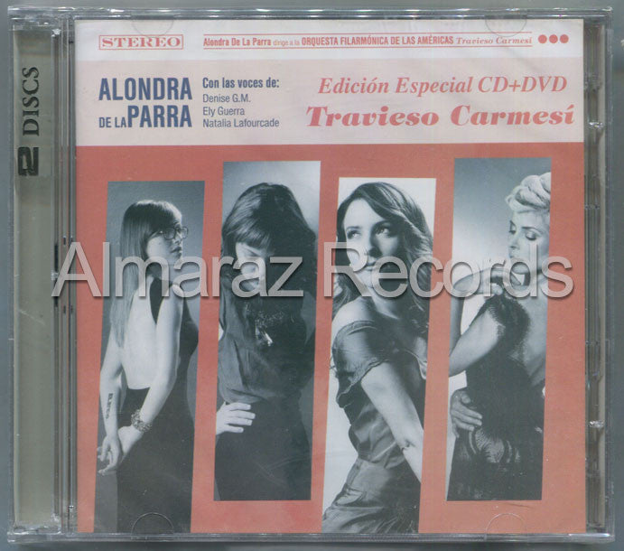 Alondra De La Parra Travieso Carmesi CD+DVD