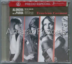 Alondra De La Parra Travieso Carmesi CD