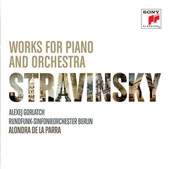 Alondra De La Parra Works For Piano And Orchestra Stravinsky CD - Almaraz Records | Tienda de Discos y Películas