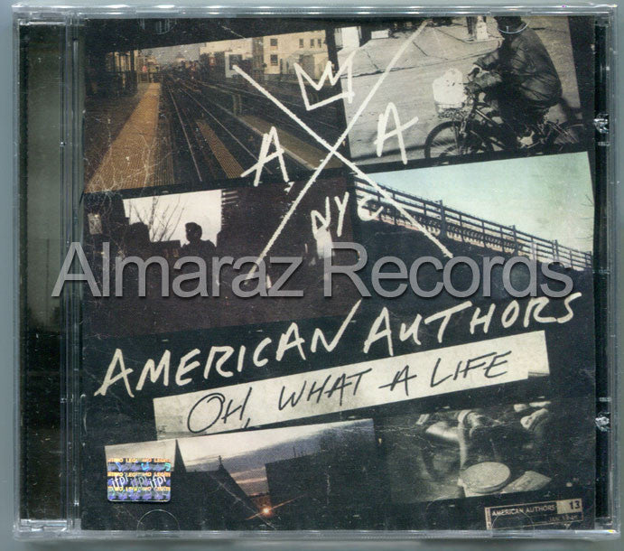 American Authors Oh, What A Life CD - Almaraz Records | Tienda de Discos y Películas  - 1