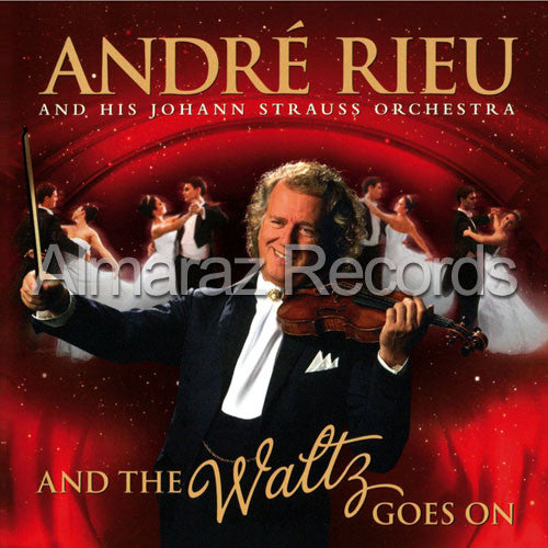 Andre Rieu And The Waltz Goes On DVD - Almaraz Records | Tienda de Discos y Películas