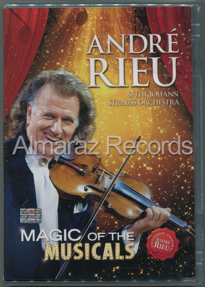 Andre Rieu Magic Of The Musicals DVD - Almaraz Records | Tienda de Discos y Películas  - 1