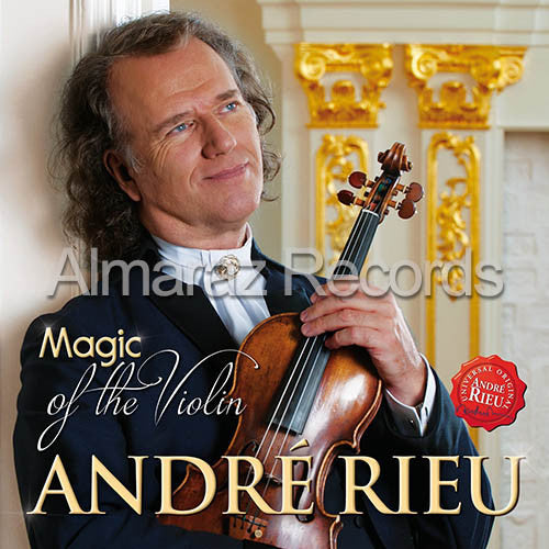 Andre Rieu Magic Of The Violin CD - Almaraz Records | Tienda de Discos y Películas