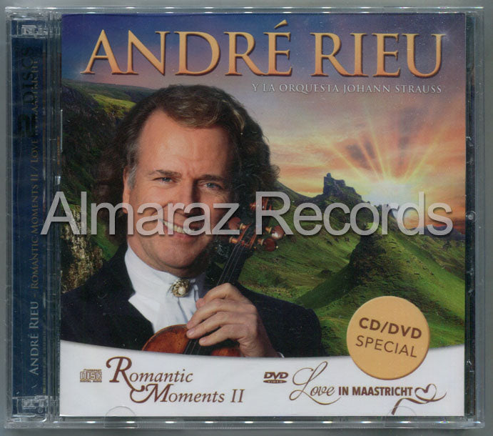 Andre Rieu Romantic Moments II CD