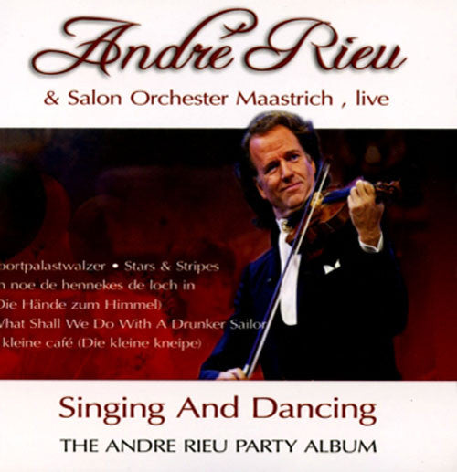 Andre Rieu Singing And Dancing CD - Almaraz Records | Tienda de Discos y Películas