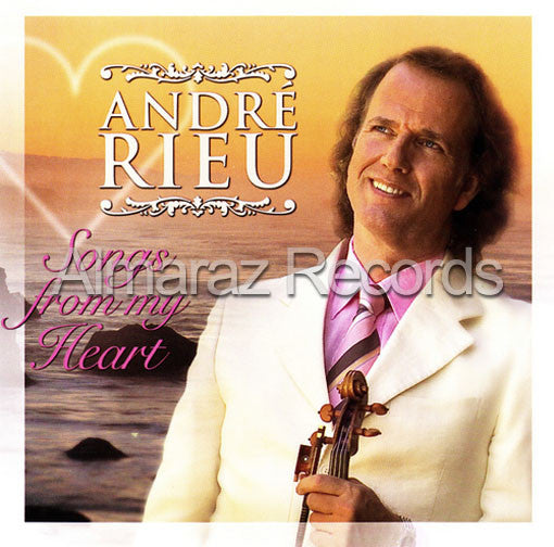 Andre Rieu Songs From My Heart CD - Almaraz Records | Tienda de Discos y Películas
