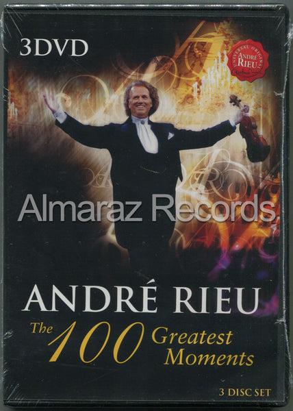 Andre Rieu The 100 Greatest Moments 3DVD