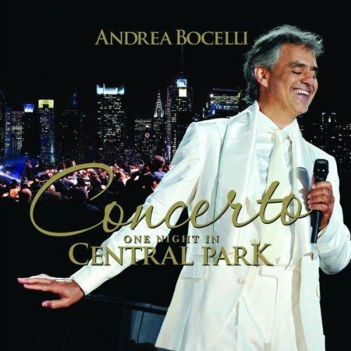 Andrea Bocelli Concerto One Night In Central Park CD - Almaraz Records | Tienda de Discos y Películas