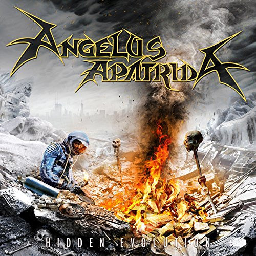 Angelus Apatrida Hidden Evolution CD - Almaraz Records | Tienda de Discos y Películas
