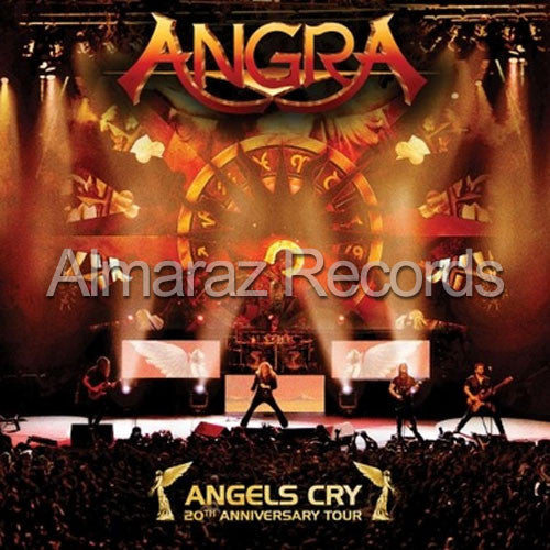 Angra Angels Cry 20th Anniversary Tour DVD - Almaraz Records | Tienda de Discos y Películas