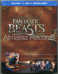 Animales Fantasticos Y Donde Encontrarlos Pop Up Edition Blu-Ray+DVD