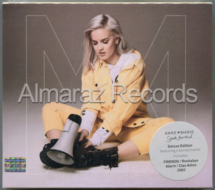 Anne-Marie Speak Your Mind Deluxe CD