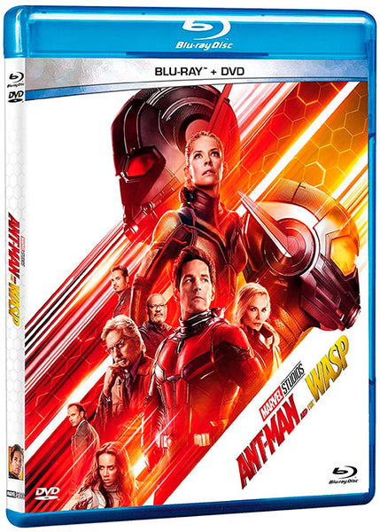 Ant-Man And The Wasp Blu-Ray+DVD