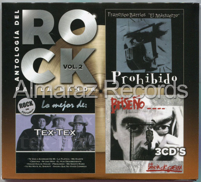 Antologia Del Rock Vol. 2 3CD