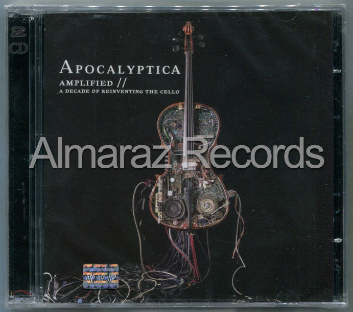 Apocalyptica Amplified A Decade Of Reinventig The Chello 2CD - Almaraz Records | Tienda de Discos y Películas  - 1
