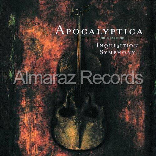 Apocalyptica Inquisition Symphony Mexican Edition CD - Almaraz Records | Tienda de Discos y Películas