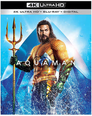 Aquaman Blu-Ray 4K Ultra HD + Blu-Ray