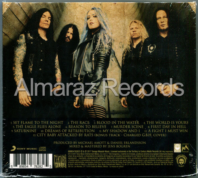 Arch Enemy Will To Power CD