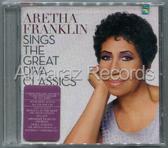 Aretha Franklin Sings The Great Diva Classics CD - Almaraz Records | Tienda de Discos y Películas  - 1