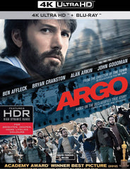 Argo Blu-Ray 4K Ultra HD + Blu-Ray