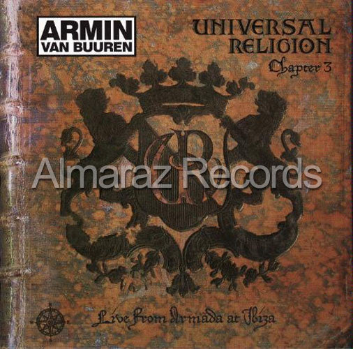 Armin Van Buuren Universal Religion Chapter Three CD - 3 - Almaraz Records | Tienda de Discos y Películas
