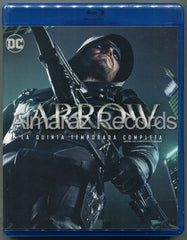 Arrow Temporada 5 Blu-Ray