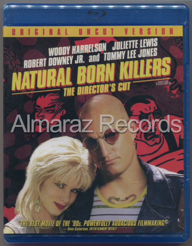 Asesinos Por Naturaleza Version Del Director Blu-Ray