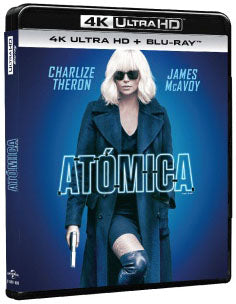 Atomica Blu-Ray 4K Ultra HD + Blu-Ray