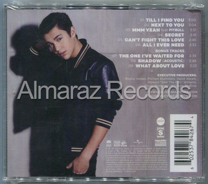 Austin Mahone The Secret CD - Almaraz Records | Tienda de Discos y Películas  - 2