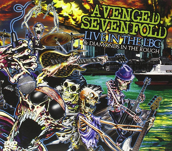 Avenged Sevenfold Live In The LBC And Diamonds In The Rough CD+DVD - Almaraz Records | Tienda de Discos y Películas