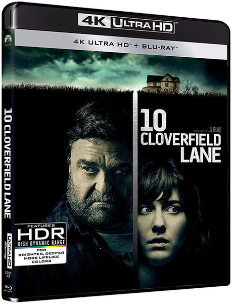Avenida Cloverfield 10 Blu-Ray 4K Ultra HD + Blu-Ray