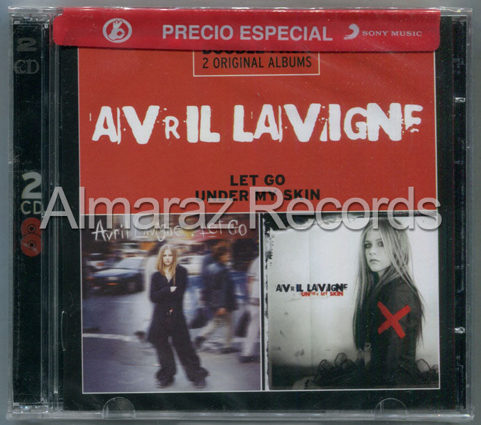 Avril Lavigne Double Pack Avril Lavigne Let Go / Under My Skin 2CD
