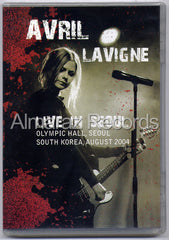 Avril Lavigne Live In Seoul DVD - South Korea 2004 - Almaraz Records | Tienda de Discos y Películas  - 1